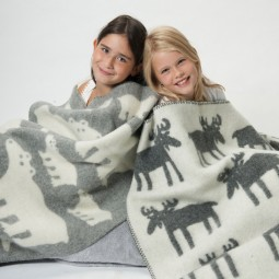 Wollen ledikant deken (Klippan eco-wool)