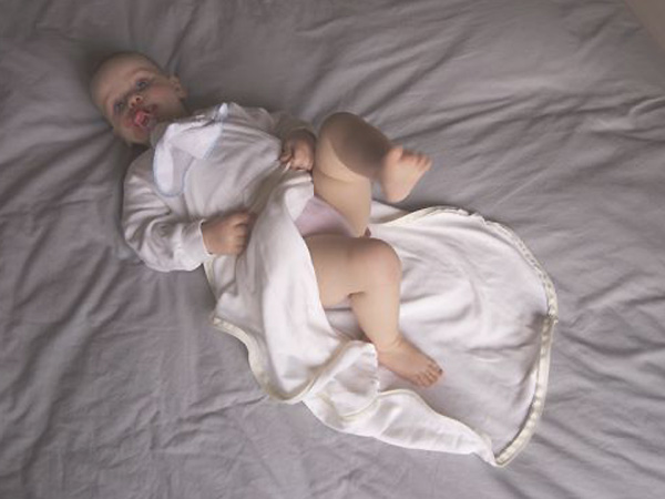 Foto 5: Sluit de rits van de Dreamy baby zomerslaapzk