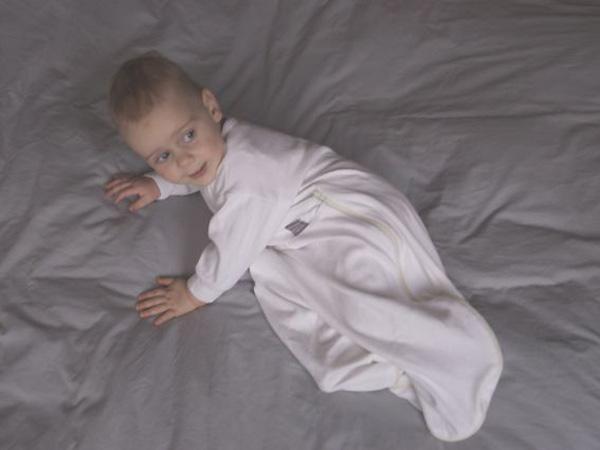 De Dreamy Zomerslaapzak laat uw baby optimale bewegingsvrijheid
