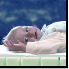 Kindje op Kindermatras
