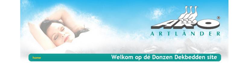 Donsdekbedden.nl - ook een slaapcomfort-website van Gisba!